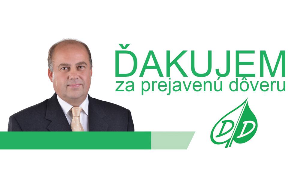 RNDr. Daniel Daniš - ĎAKUJEM